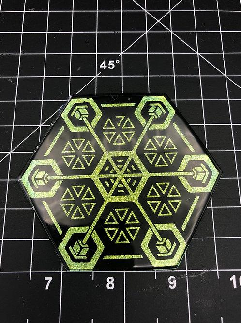 Copy of Coaster / wall tile 3.5 inch Hexagon