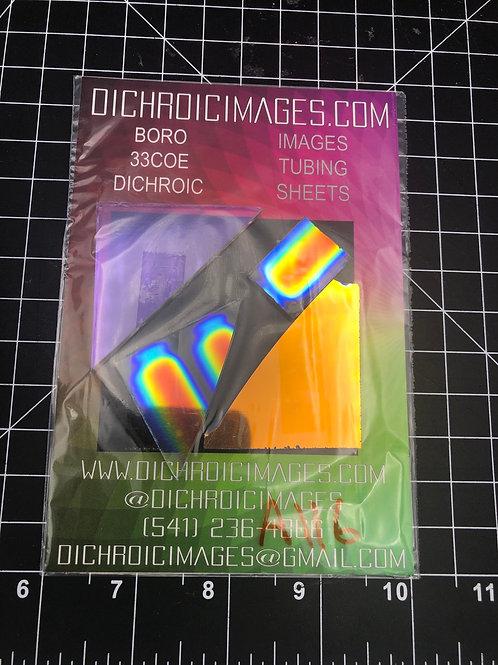 Dichroic Sheet Scraps 116