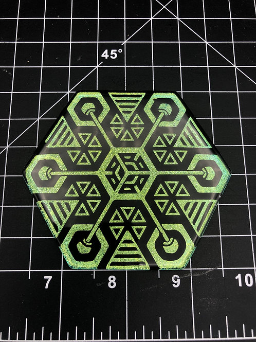 Coaster / wall tile 3.5 inch Hexagon
