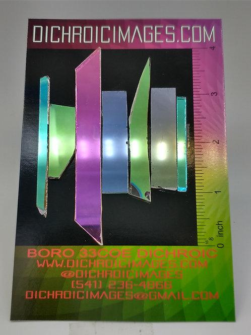 Dichroic Scrap 1oz H43