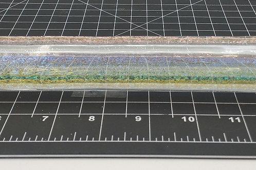 Dichroic Tubing Clear Rainbow H-15