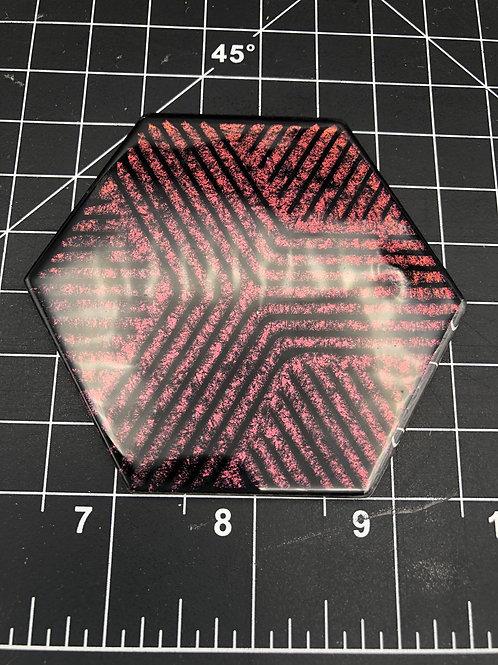 Coaster / wall tile 3.5 inch Hexagon