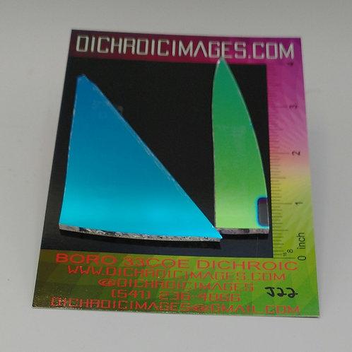 Dichroic Scrap 1oz J22