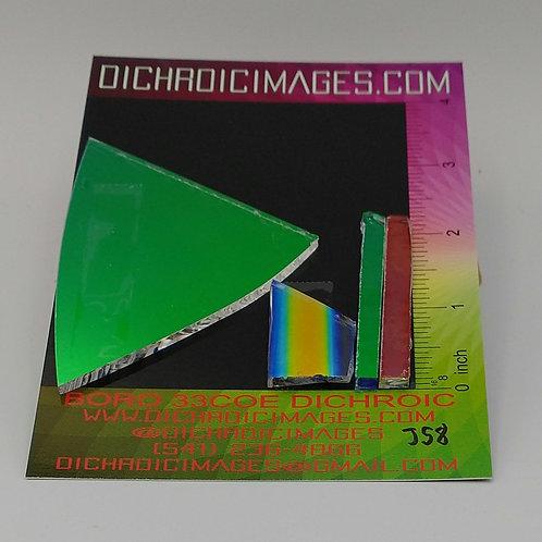 Dichroic Scrap 1oz J58