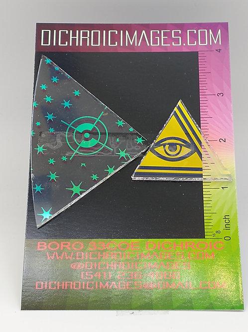 Dichroic Pattern Pieces 1oz M95