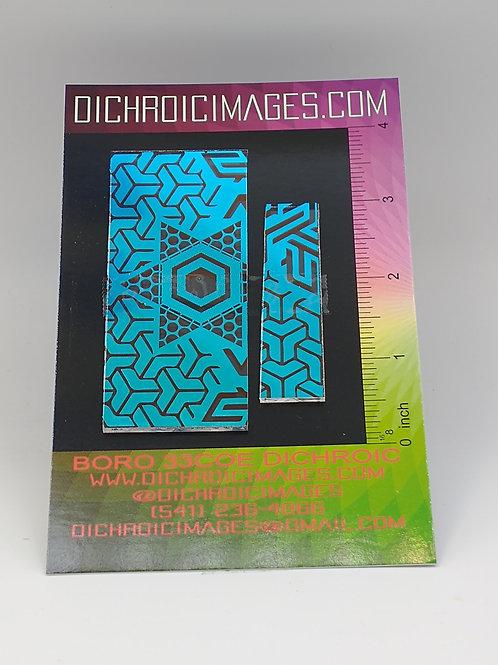 Dichroic Pattern Pieces 1oz M110