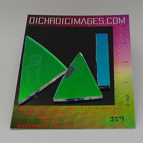Dichroic Scrap 1oz J54