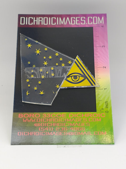 Dichroic Pattern Pieces 1oz M106