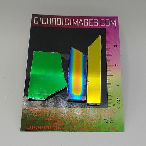 Dichroic Scrap 1oz J3