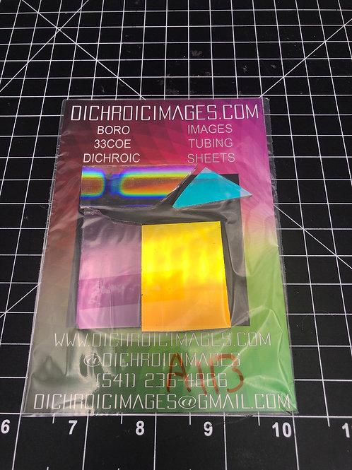 Dichroic Sheet Scraps 113