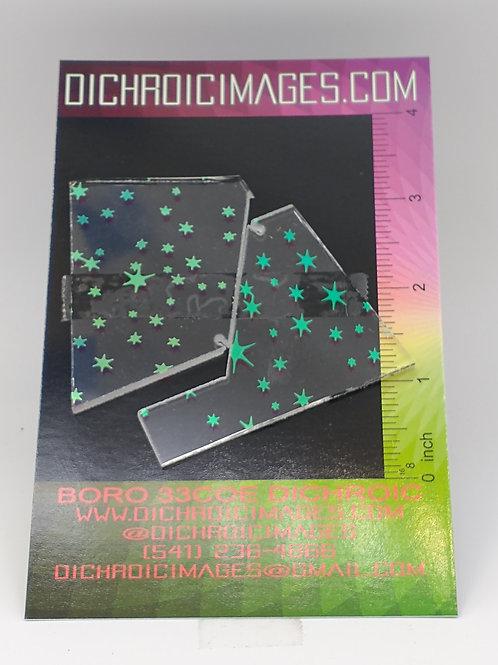 Dichroic Pattern Pieces 1oz M39