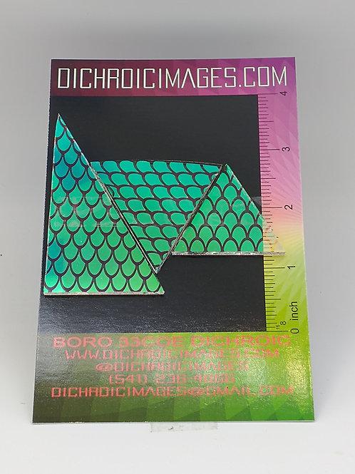 Dichroic Pattern Pieces 1oz M114