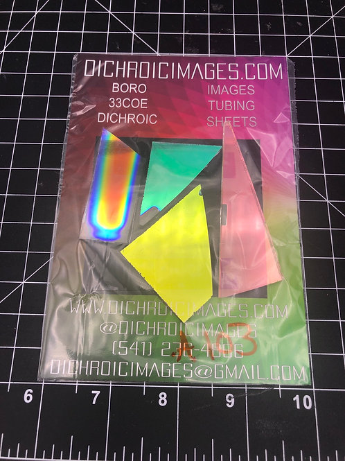Dichroic Sheet Scraps 103