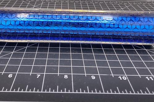 Dichroic Tubing Blue Asanoha I-39