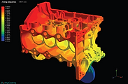 3D Filling, Stress, Heat Solidification