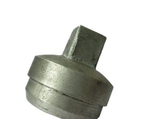 Spectrometer Chill Holder for Coin Sample
