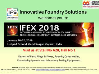 IFEX 2018 at Gandhinagar from 10-12 Jan'2018