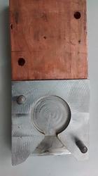 Spectrometer Copper Die, Spectrometer Coin Sample, Spectrometer die for Cast Iron & Ductile Iron, Spectrometer die
