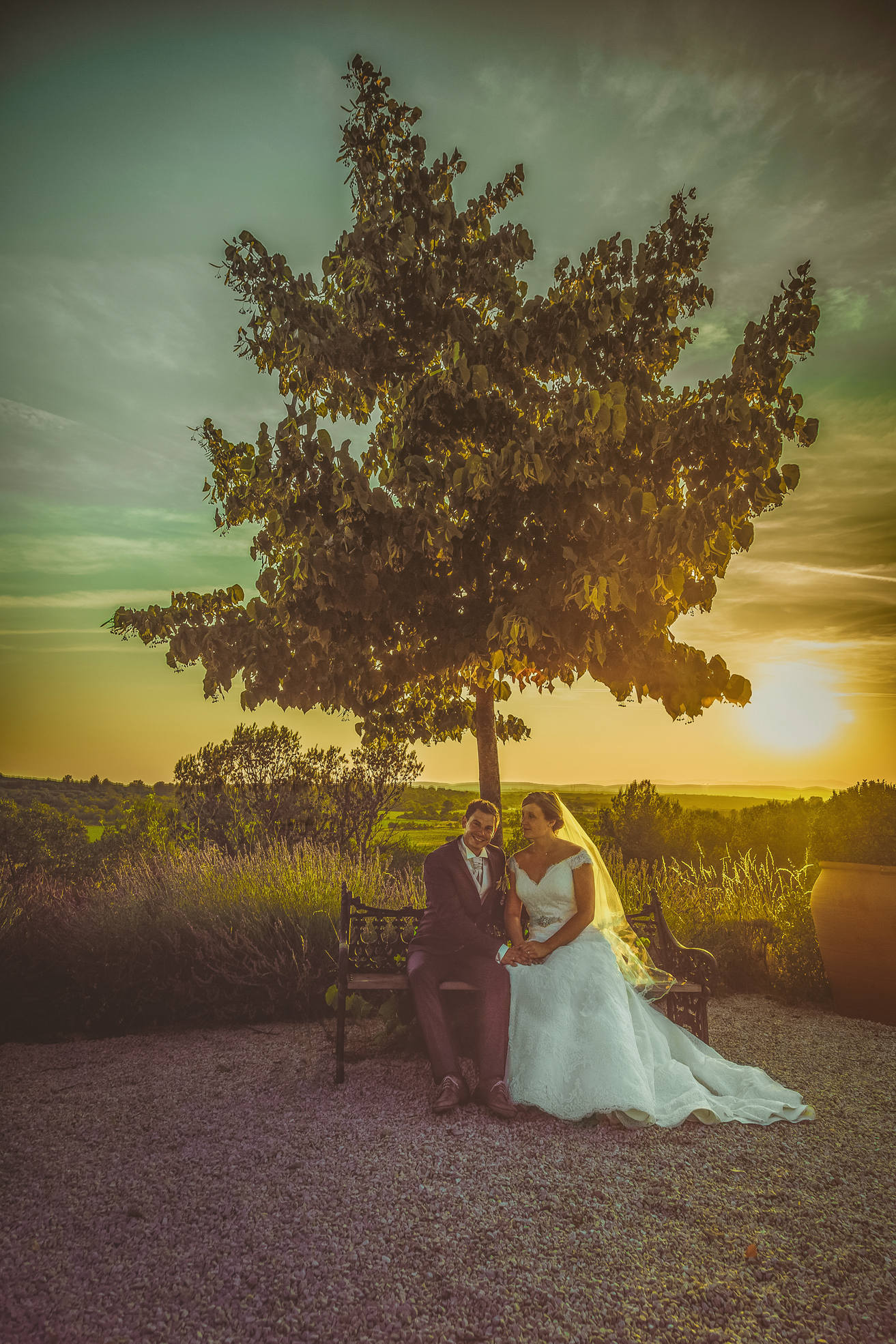 Photograph en reportage mariage Nîme