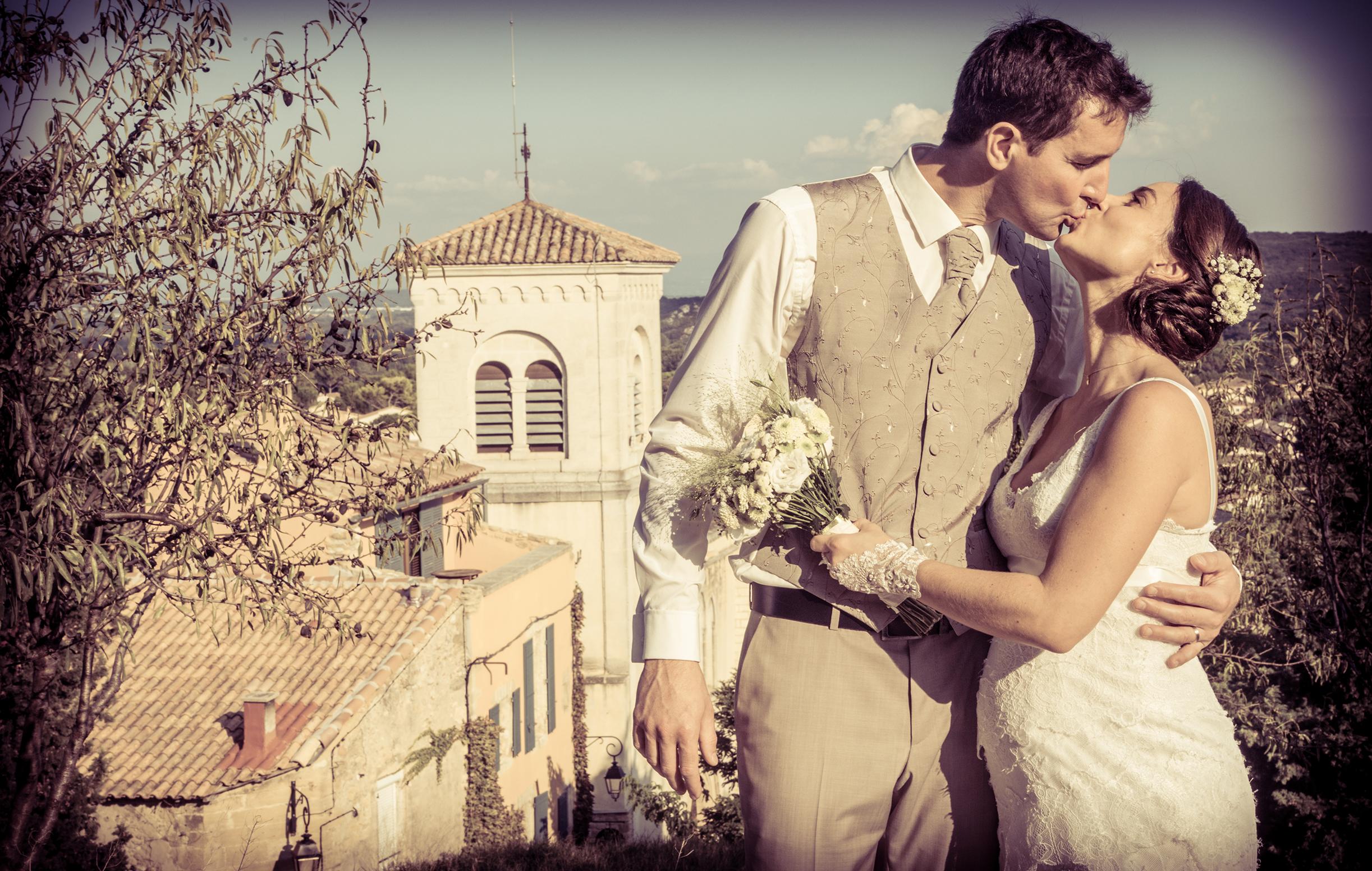 Mariage à Pujaut