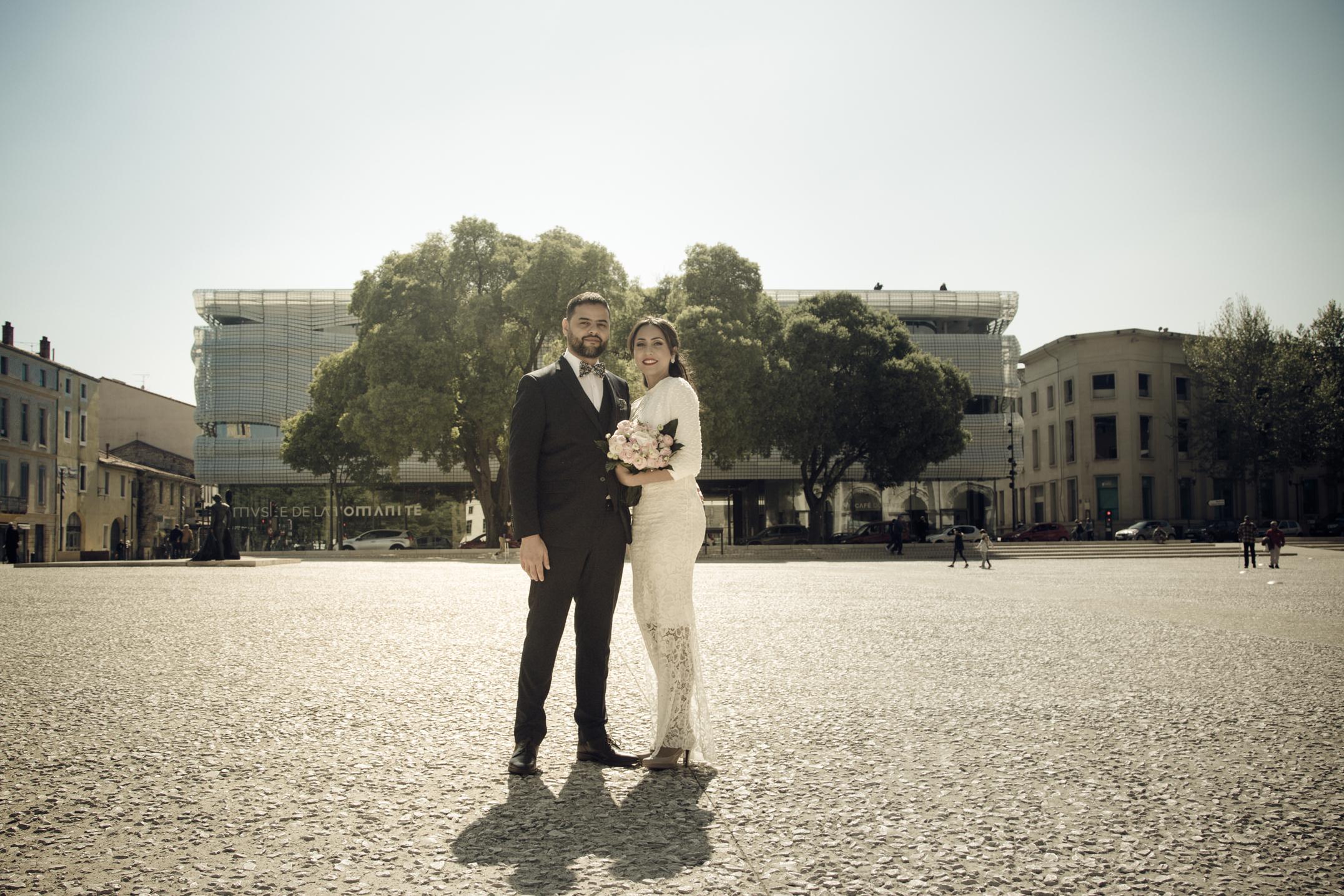 Photographe mariage Nîmes Gard