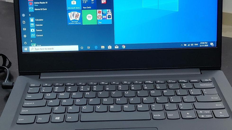 Lenovo V14 Laptop Intel i3 8th Gen Processor 4GB DDR4 RAM 1 TB Hard disk