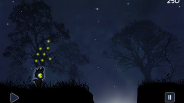 Dragon & the fireflies