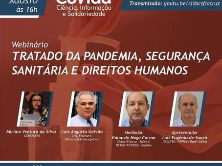 Tratado da pandemia, segurança sanitária e direitos humanos