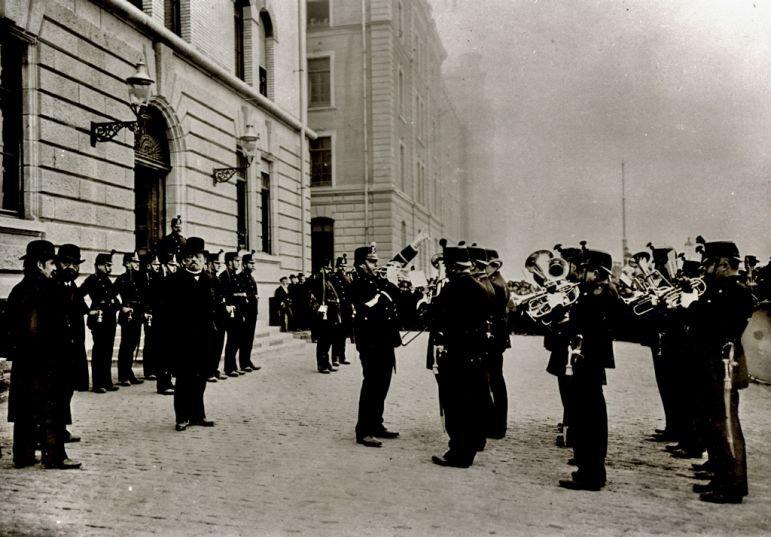 Eroeffnung Polizeikaserne