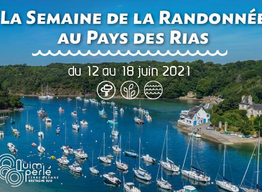La Semaine de la Randonnée au Pays des Rias. Du 12 au 18 juin 2021