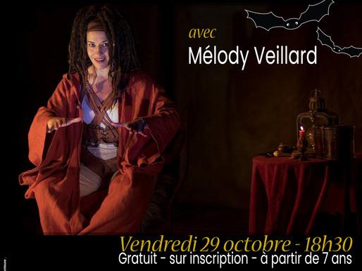 """Contes à la médiathèque & programmation spéciale """"Halloween"""""""