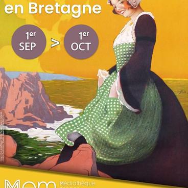 """Exposition """"l'âge d'or du tourisme en Bretagne"""""""
