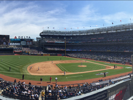 721M City Hawks Student-Athletes and Alumni @Yankees Home Opener at Yankee Stadium. Yankees 8  Rays