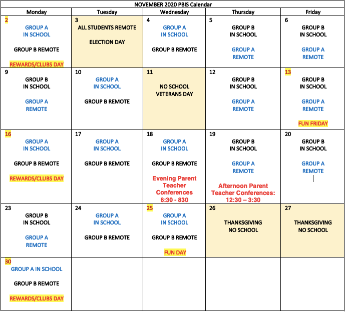 721M November calendar