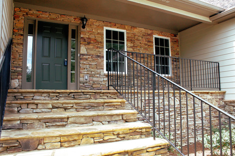 Stone Entryway Overhaul