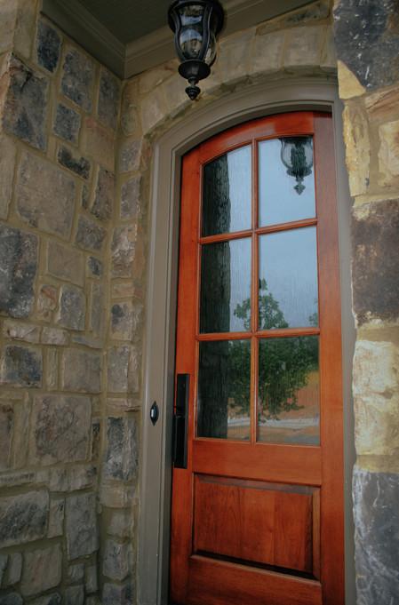 Bold Stone Entry Doorway