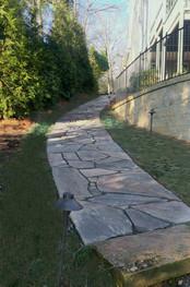 Large Format Stone Pathway
