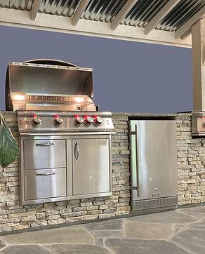 Stone Outdoor Kitchen Kit