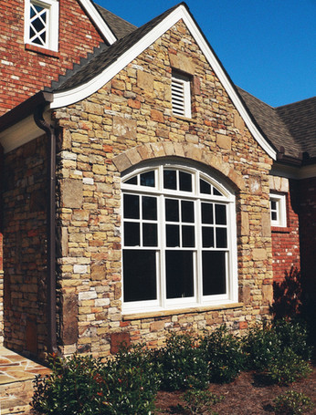 Brick and Stone Accents