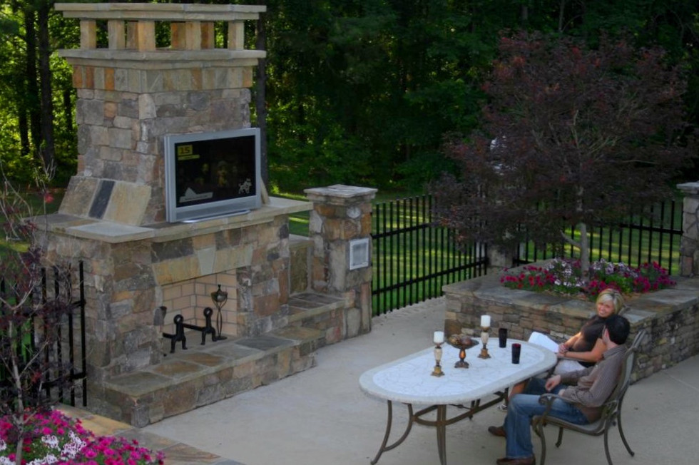 Outdoor Living with TV