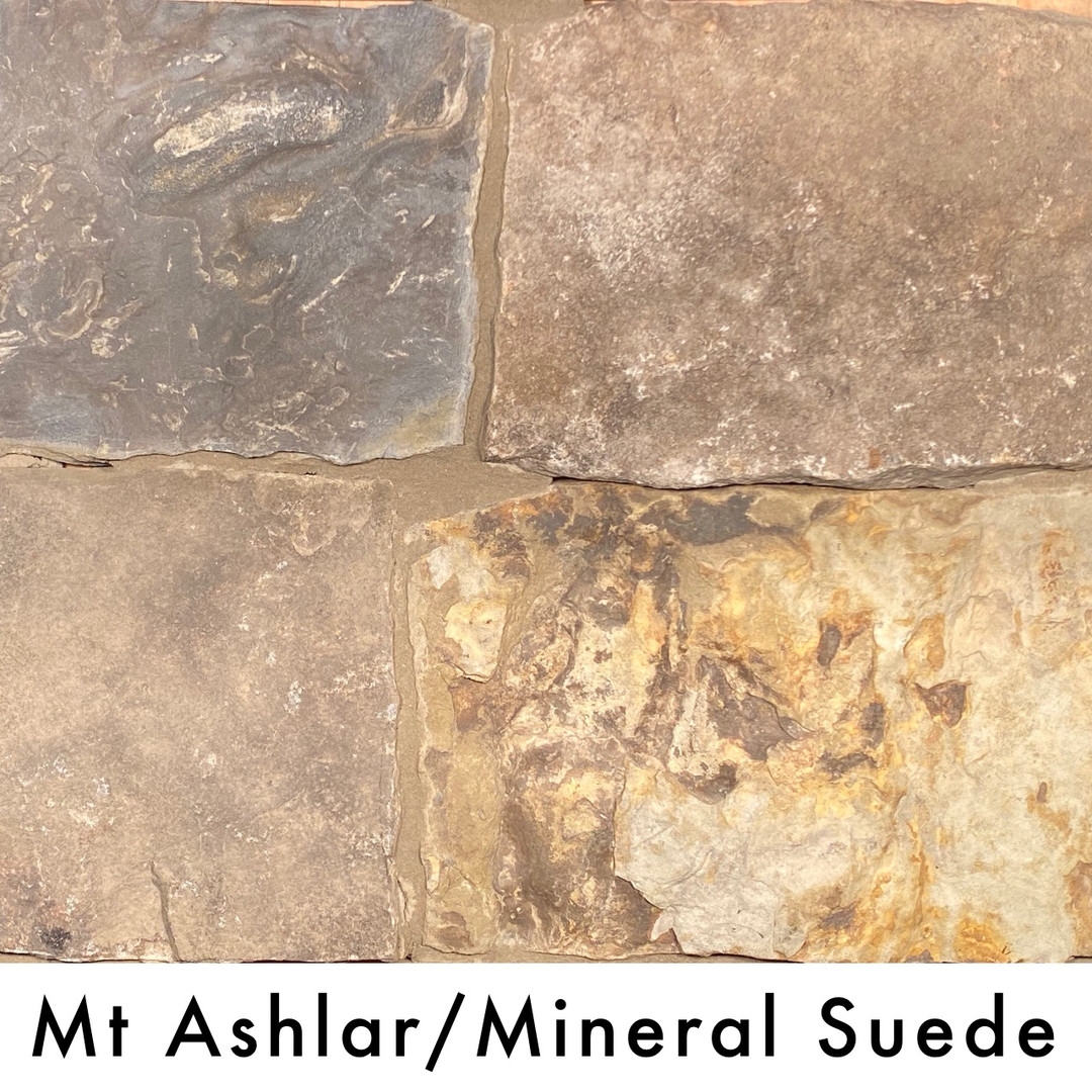 Mt Ashlar/Mineral Suede
