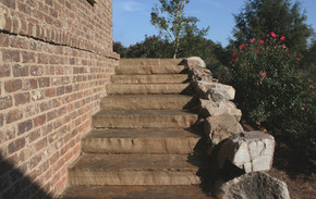 Stone Slab Staircase