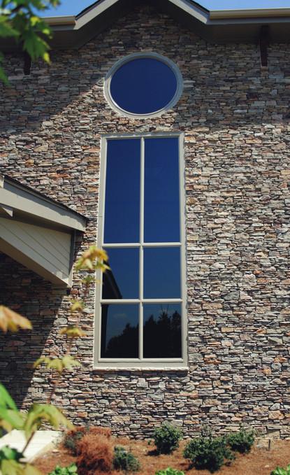 Church Stone Rock Window Modern Rustic C