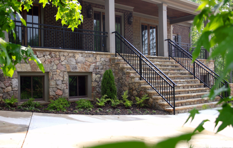 Commercial Stone Entry Way