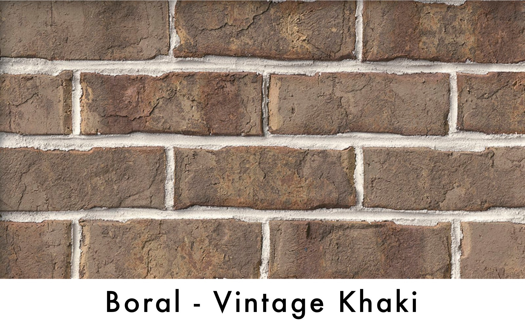 Boral Brick - Vintage Khaki