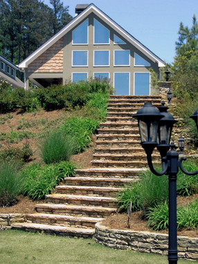 Stone Stairway Cottage Lakeside