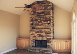 Floor to Ceiling Fireplace Makeover