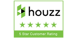 Rated 5 stars on Houzz