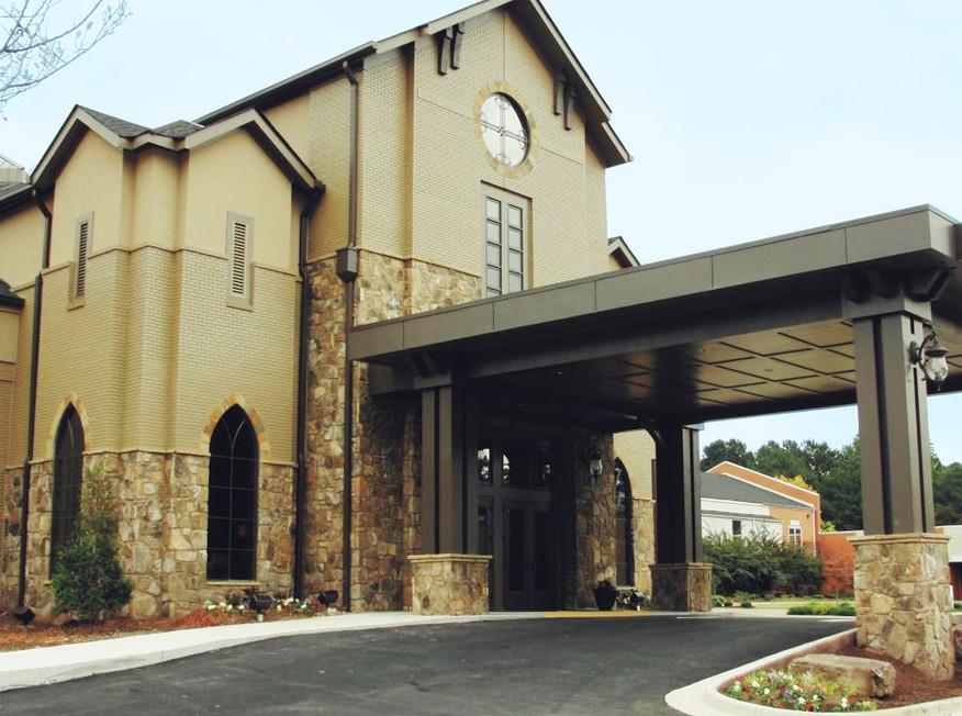 Church Stone Entrance Trim