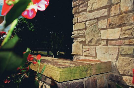 Stone Addition in Garden